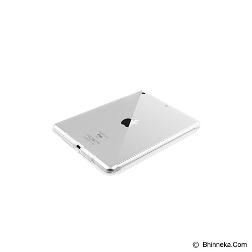 MACALLY Protective Case With Audio Amplifier (Apple iPad 3rd Generation) [MCLSMARTMATE3C] - Clear - Casing Tablet / Case